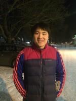 Zhenzi var en av de som trotsade kylan (-11°C) vid måndagens fys.