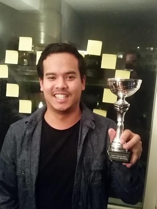 Tom Hedström fick priset Årets Utveckling, och vilken resa han gjort. Från bänk 90 minuter i premiären i januari till given startspelare på slutet av säsongen. Vuxit för varje månad som gått.