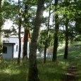 Den vackra ekskogen runt Stakaberg Gårdshotell nära Halmstad