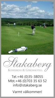Golfpaket Halmstad - Boende med golfpaket på Stakaberg Konferens & Gårdshotell.