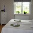 Rum i grönt - Bröllopsnatt på Stakaberg Gårdshotell i Holm nära Halmstad och Tylösand