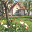 Bo i rum med frukost  i Gårdshuset på Stakaberg i Halmstad