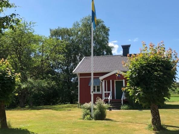Hyra hus/stuga Halmstad - hyr vårt sommartorp Holms Heagård utanför Halmstad 5 km från Tylösand