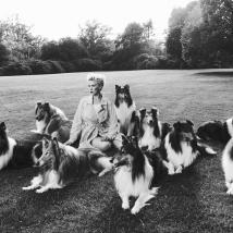 jesper molinJasmine with dogs1
