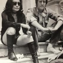 "Yoko Ono and John lennon ""relax"""