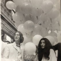 "John Lennon and Yoko Ono ""opening exhibition"""