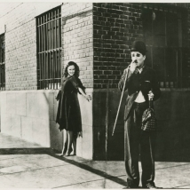 "Charlie Chaplin and Paulette Goddard 1936 ""its love"""
