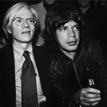 Andy Warhol and Mick Jagger_1977 copy316