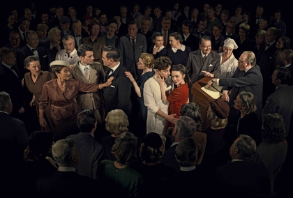 """Tack alla ni 130 personer som kom och firade premiären av serien """"Vår tid är nu"""". Tack Johan och Lotta Rosenlind."""