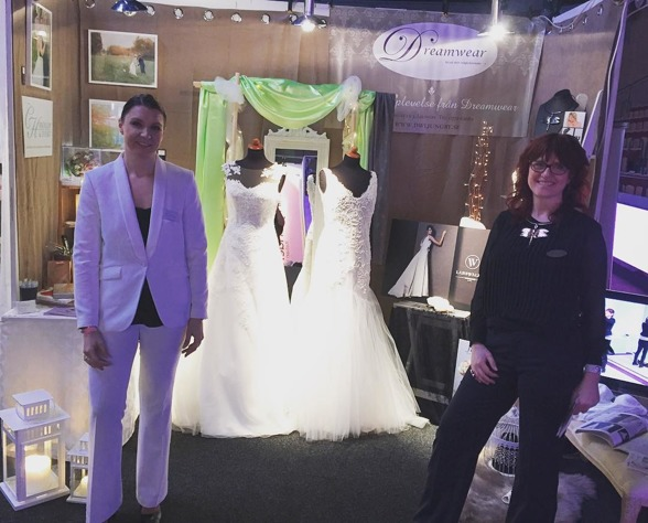 Our stand at Helsingborg Wedding Fair 2016 - together with Dreamwear Ljungby