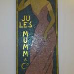 Jules Mumm reklamaffisch från 1895