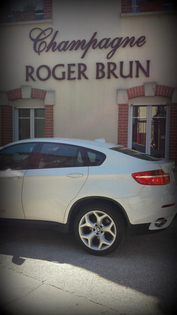Underbart hos Champagne Roger Brun