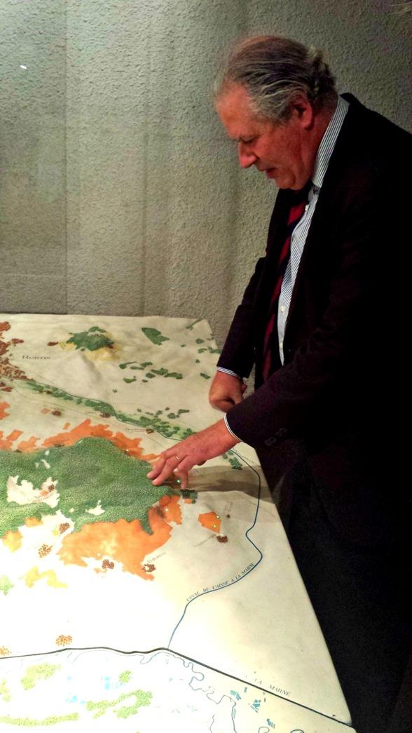 Karta över Bollingers ägor