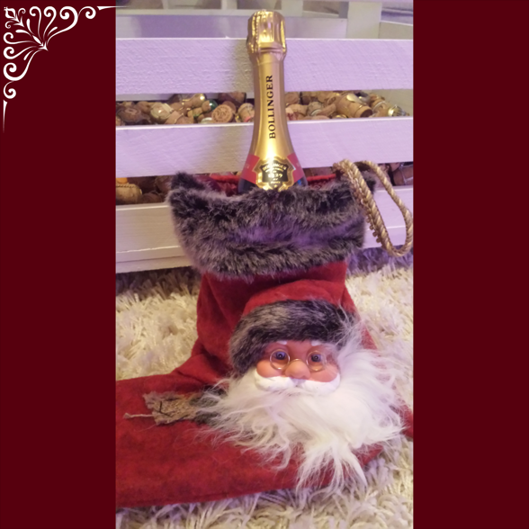 Magnus fick en julstrumpa!