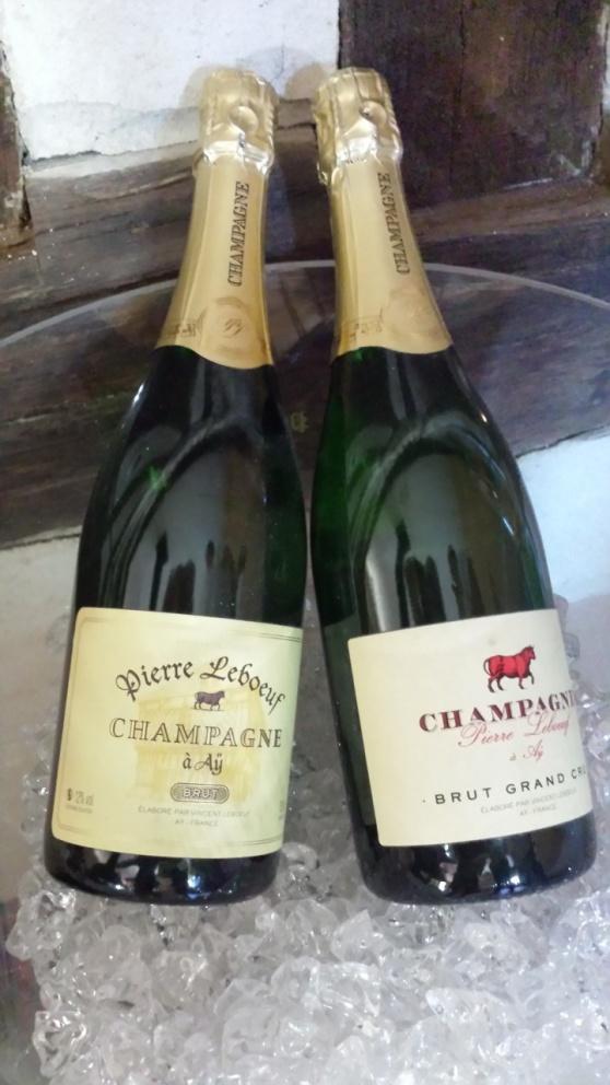 Nu Champagne provning...