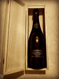 Champagne Bollinger VVF