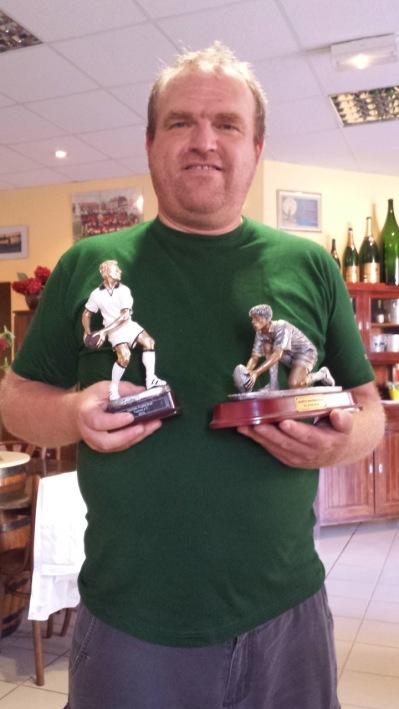 Filipe har ett förflutet som Rugbyplayer...med många matcher och troféer i ryggen. Vi har förövrigt spelat i samma position...Kratsare