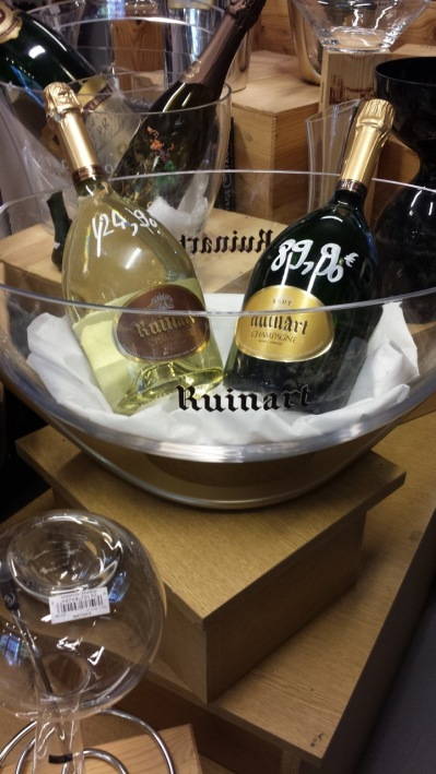 Ruinart Champagne, icebucklet