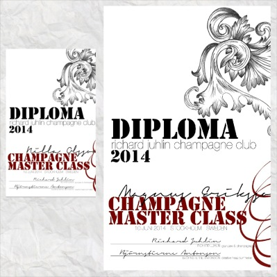 Diplomerade i Richard Juhlins Champagne Master Class