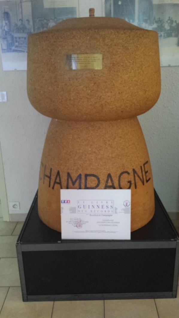 Världens största champagnekork