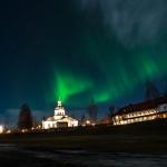 Norrskensjakt vid Landskyrkan 141207-9
