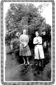 Åkersdal; Alice och Berta Ullberg 1930-tal