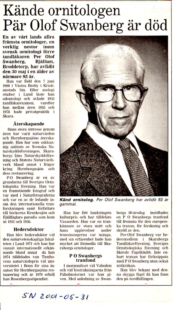 Artikeln tillhör Skövde Nyheter! - förmedlad av Verna Andersson, Ljungstorp, 2013