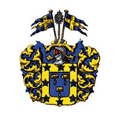 Adliga släkten Kuylenstiernas vapen Nr 1304. (Publicerat med tillstånd av www.adelsvapen.com)