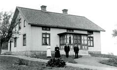 Boningshuset Redsvenstorp före 1920. Klicka på bilden för att se den större!
