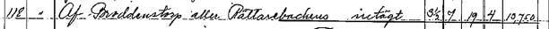 """""""af Broddenstorp eller Rättarebackens intägt"""" - är tilldelningen till Stora Hålltorp vid skiftet 1803."""