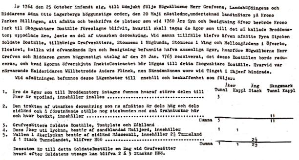 Klicka på texten för större text! Ur artikel av Nils Lann, Ljungstorp i Varnhemsbygden.