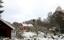 Med ladugårdar till höger på den forna Kilen