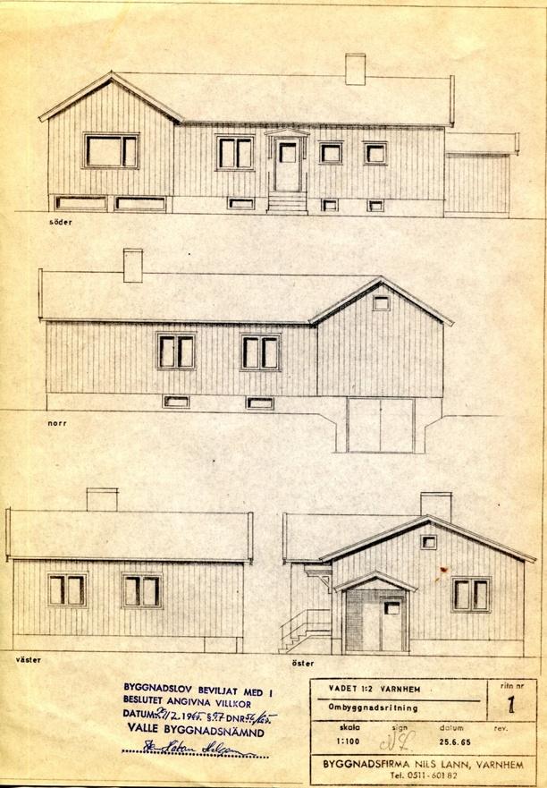 Även denna gång var det Byggmästare Nils Lann som stod för byggnationen.