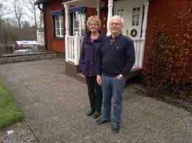 De nya ägarna 1969 - Ethel och Inge Gustafsson, här 2013. Foto Kent Friman, copyright. Klicka på bilden för större bild!