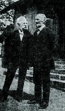 Johan LIndqvist och Per August Pettersson, Hålltorp, 1926