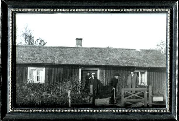 Inramat foto från Margit Linquist i Bäckedalen 2014.
