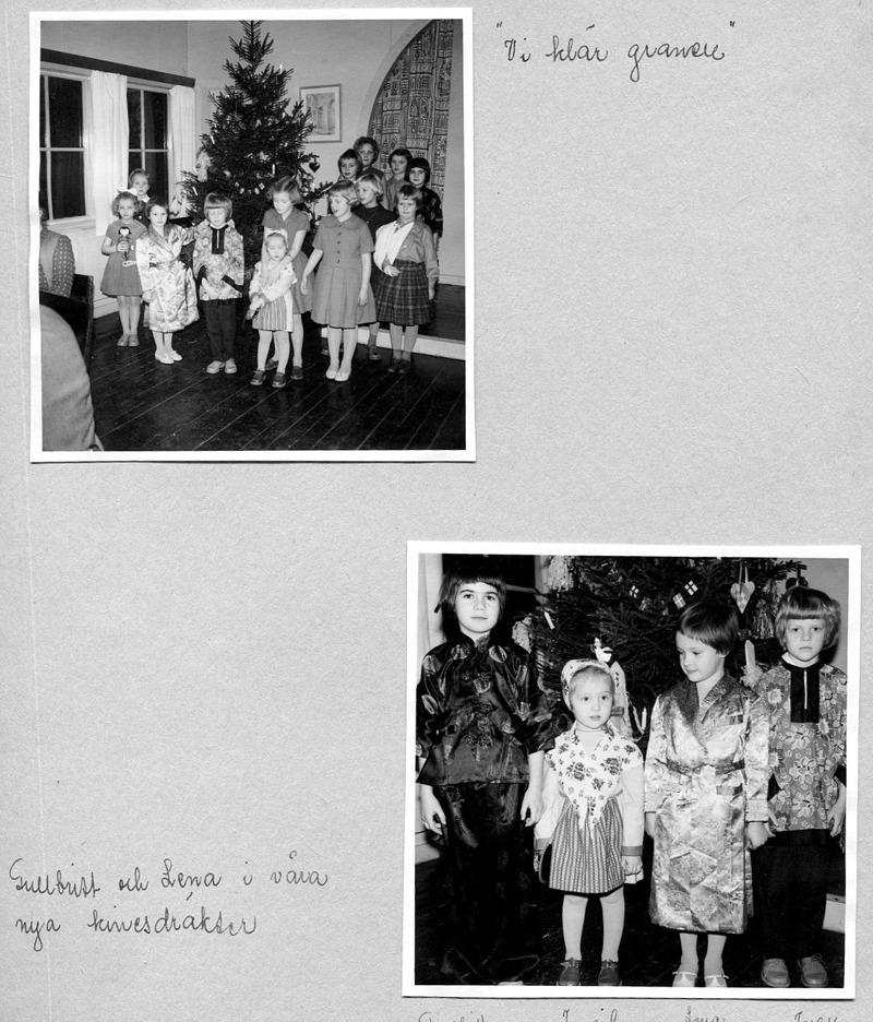 Sid 27. (Bild 2: Gullbritt Sjökvist, Ingrid Karlsson, Lena Palm och Inez Friman) - barnen är desamma som på bilderna ovan. Inskrivet av Kent Friman, 2014-05-27.