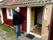 Välkomna in hälsar husets ägare, Karl-Erik Berglund