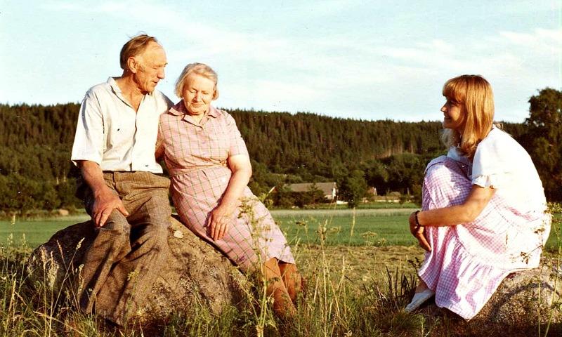 Karl, Astrid och Gudrun Ramviken
