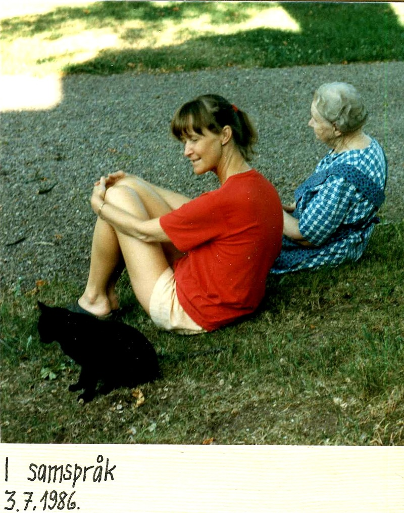 Gudrun Ramviken och Astrid