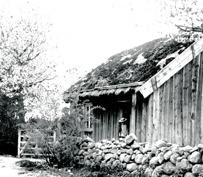 Bäcktorp 1907. Arvid Bäckström & Anna