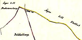 Karta 1918. Lantmäteriet Historiska Kartor. Klicka på kartan för större bild!