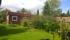 Trädgården från öster
