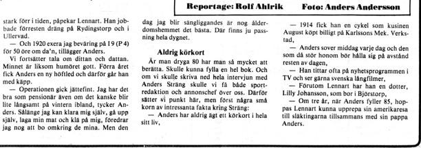 Klicka på texten för att läsa bättre! Urklipp från Gunborg Ferms samling, Ljungstorp, 2014