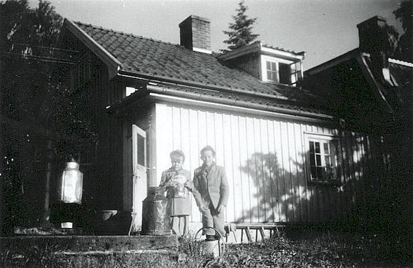 Kort från makarna Forsell i Ljungsbo, Ljungstorp, 2014.