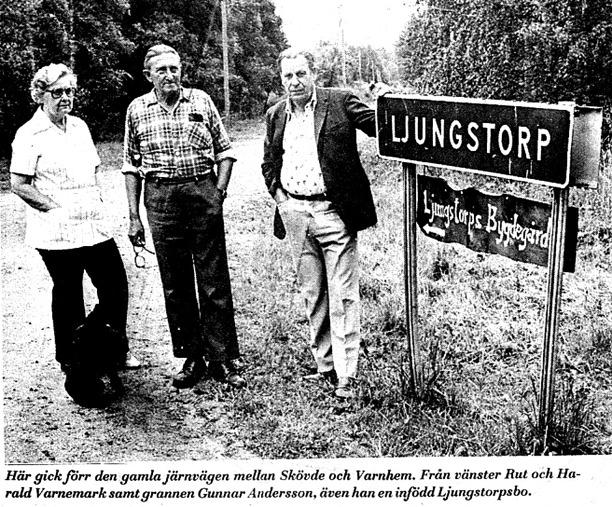 Urklipp från Gunborg Ferms samlingar, Backen, Ljungstorp, 2014.