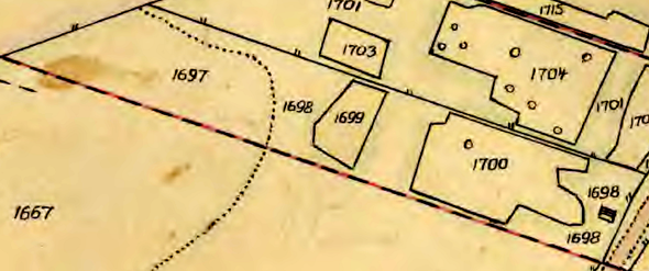 Lantmäteriet Historiska Kartor, 1844 års karta renritad.