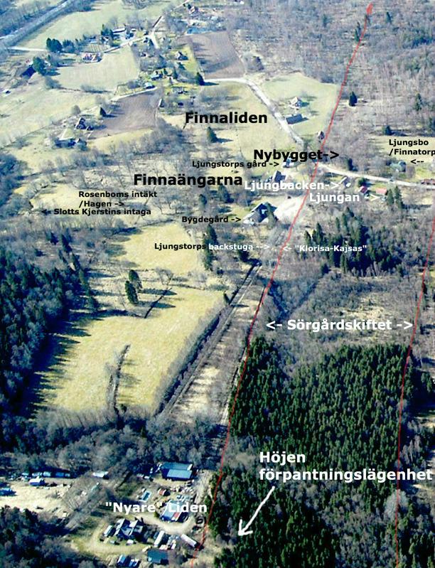 Flygfoto skänkt av Leif Crona, godkänt för publicering av Försvarsstaben, augusti 2014