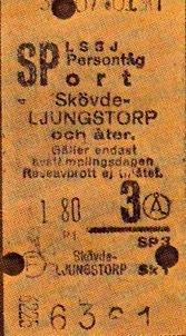 Bild Arne Andersson, Skultorp, från resa t o r Skövde - Ljungstorp för att besöka systern Verna Andersson.