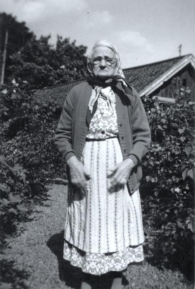 Foto från Ulla Persson, Strängnäs, 2014, Hanna var hennes mors faster.